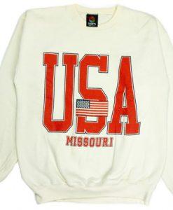 Vintage 90s USA Sweatshirt VL