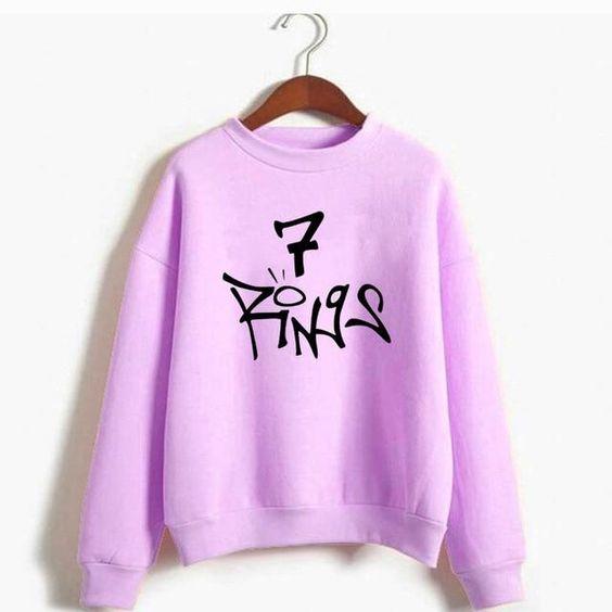 7 Rings Sweatshirt FD30N