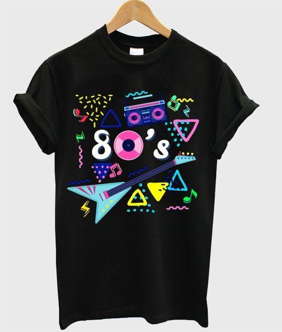 80's T-shirt FD28N