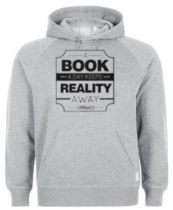 A book Reality Hoodie EL29N