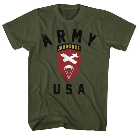 ARMY-US AIRBORNEILITARY T-shirt FD01