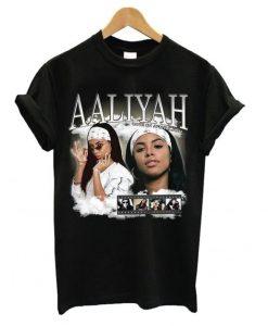 Aaliyah Homage T shirt SR7N