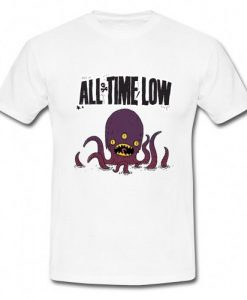 All Time Low Octopus T-Shirt N8EL