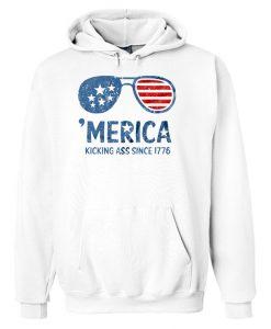 America Kicking Hoodie EL29N