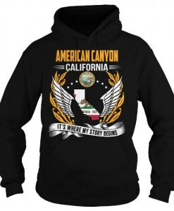 American Canyon California Hoodie FD30N