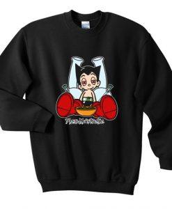 Astro boy blazed sweatshirt FD30N