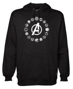 Avengers Symbols Hoodie EL29N