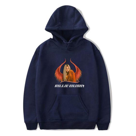 Billie Eilish Design Hoodie SR28N