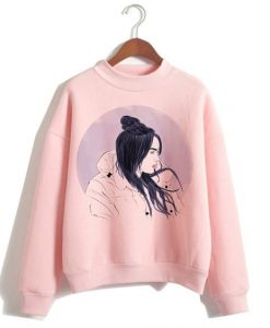 Billie Eilish Harajuku Sweatshirt FD30N
