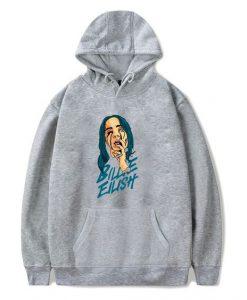 Billie eilish themed hoodie FD28N