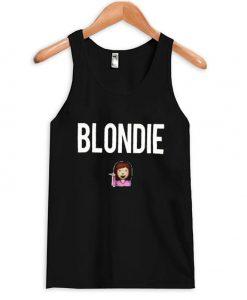 Blondie Emoji Tank-top EL29N