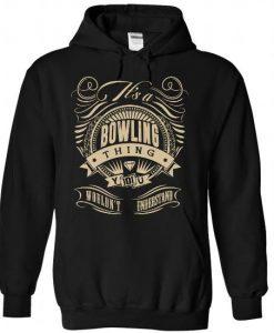 Bowling Thing Hoodie EL29N