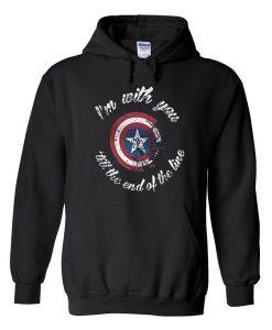 Captain America Hoodie EL29N