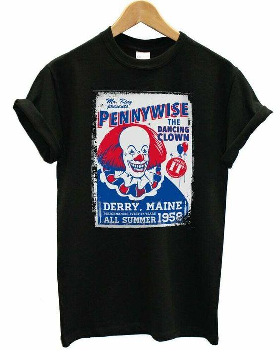 Pennywise the Dancing tshirt FD30N