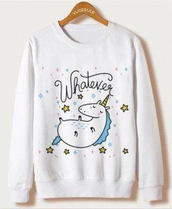 Unicorn Print Sweatshirt FD30N