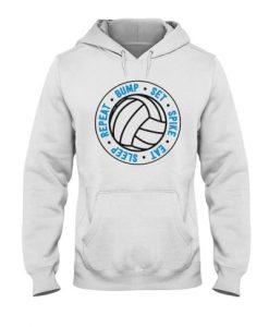 Volleyball Beach sport Hoodie EL01