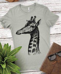 Womens Giraffe Shirt FD4N