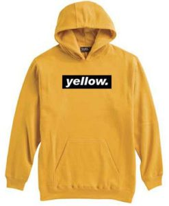 Yellow Black Striped Hoodie N21RS