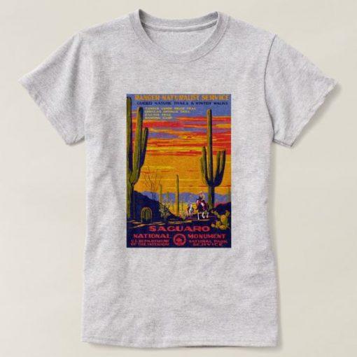 aguaro National Park T-shirt ER1N