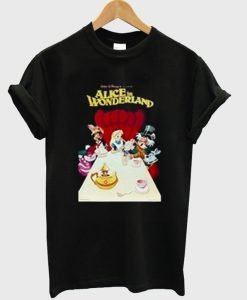 alice in wonderland t-shirt EL29N
