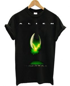 alien in space nobody Tshirt EL29N