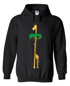 tree or giraffe hoodie Fd28N