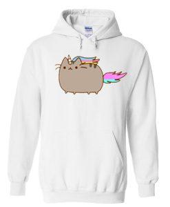 unicorn pusheen hoodie FD28N
