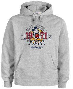 walt disney world 1971 hoodie FD28N