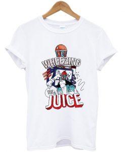 wheezing juice t-shirt EL28N