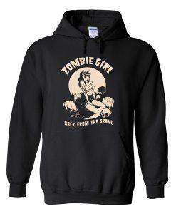zombie girl Hoodie FD28N