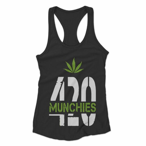 420 Munchies Weed Tank Top SR18D