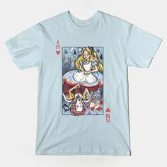 Alice And The Queen Tshirt EL26D