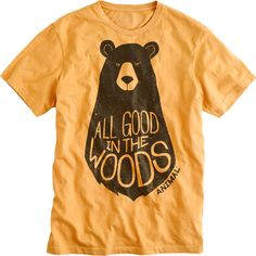 All Good In The Woods Tshirt EL6D