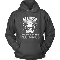 All Men Mechanic Hoodie EL6D