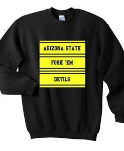 Arizona State Fork Sweatshirt SR4D