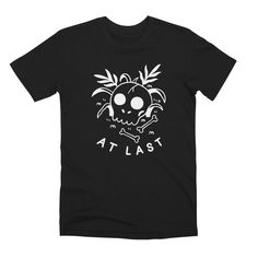 At Last Skull Tshirt EL6D