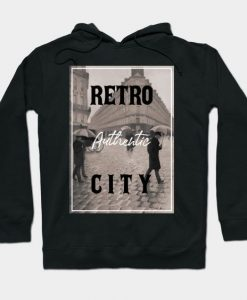 Authentic retro city Hoodie SR2D