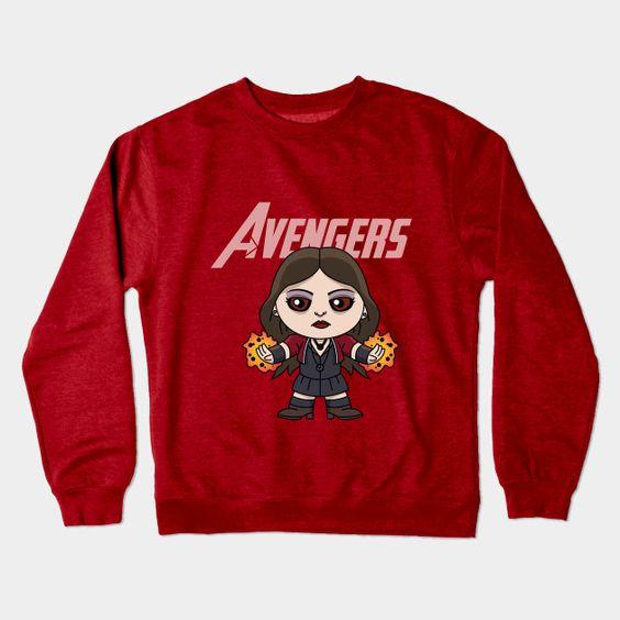Avengers Crewneck Sweatshirt SR4D