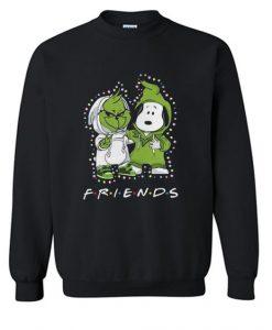 Baby Grinch And Snoopy Sweatshirt SR4D