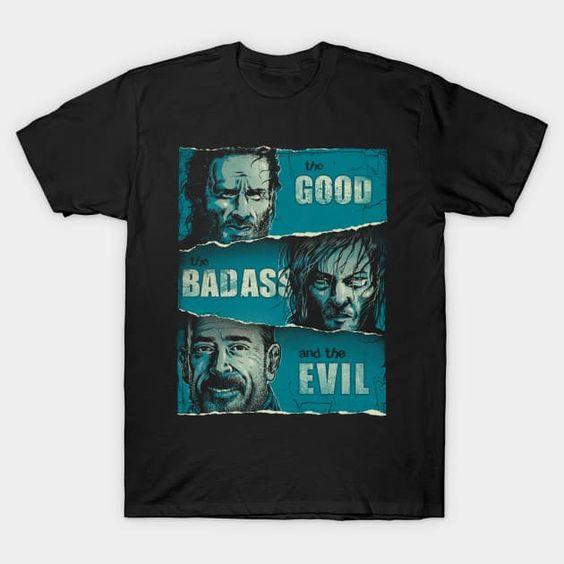 BadAss and the Evil T Shirt SR24D