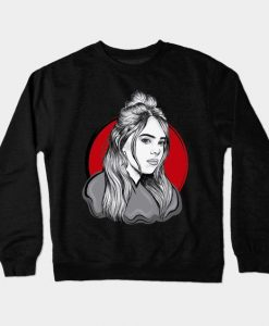Billie Eilish Cute Sweatshirt SR4D