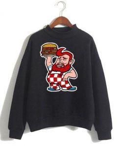 Bronson Burger Sweatshirt SR4D