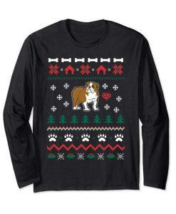 Bulldog Ugly Christmas Sweatshirt 9DAI