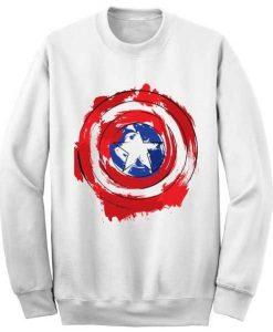 Captain America Shield sweatshirt FD3D