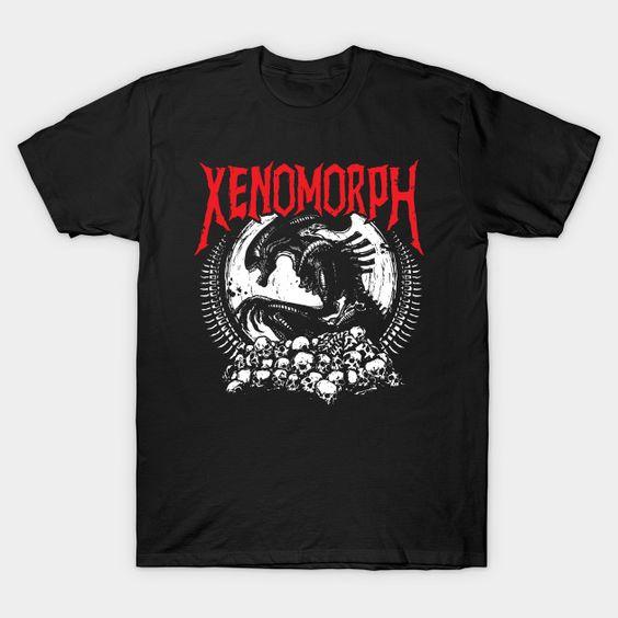 Metal Aliens Xenomorph T-Shirt VL23D