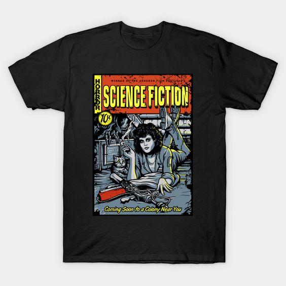 Pulp Science Aliens T-Shirt VL23D