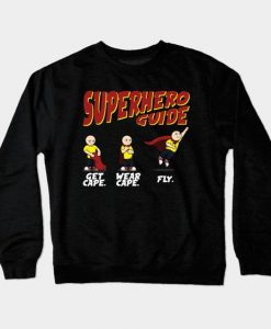 Superhero Guide Sweatshirt SR4D