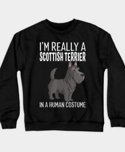 Terrier Dog Sweatshirt SR2D