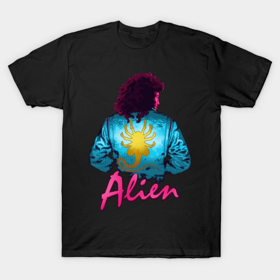 The Spacetug Aliens T-Shirt VL23D