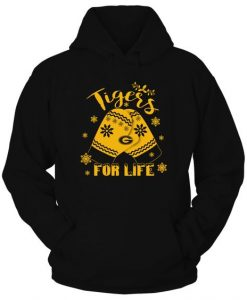 Tigers For Life Hoodie SR7D